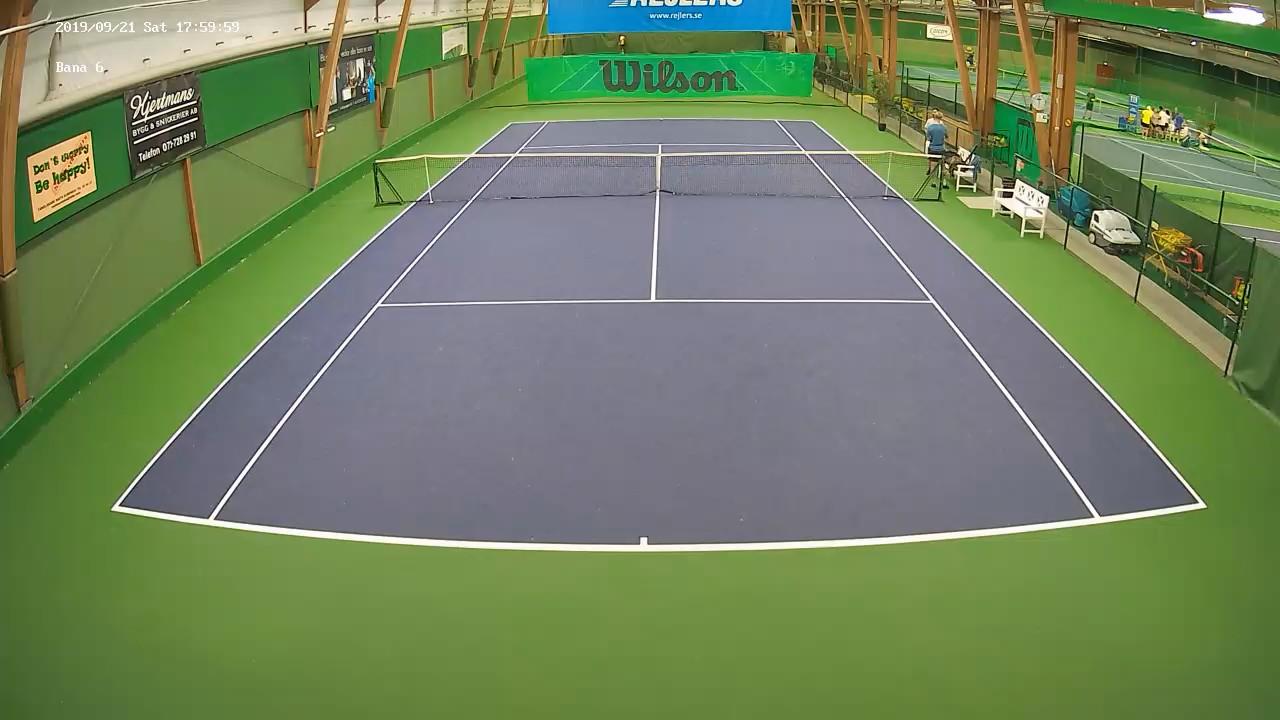 Stockholm Tennishall bana6